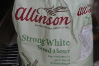 The flour I used for the bagels.